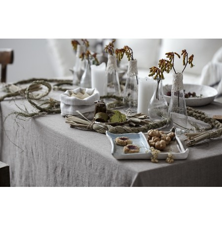 Natural Rustic Stone Washed Vintage Linen Tablecloth Epic