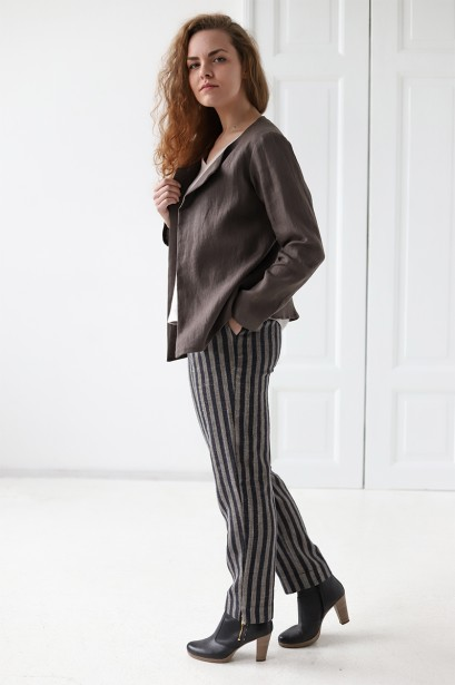 Striped Linen Pants OSLO